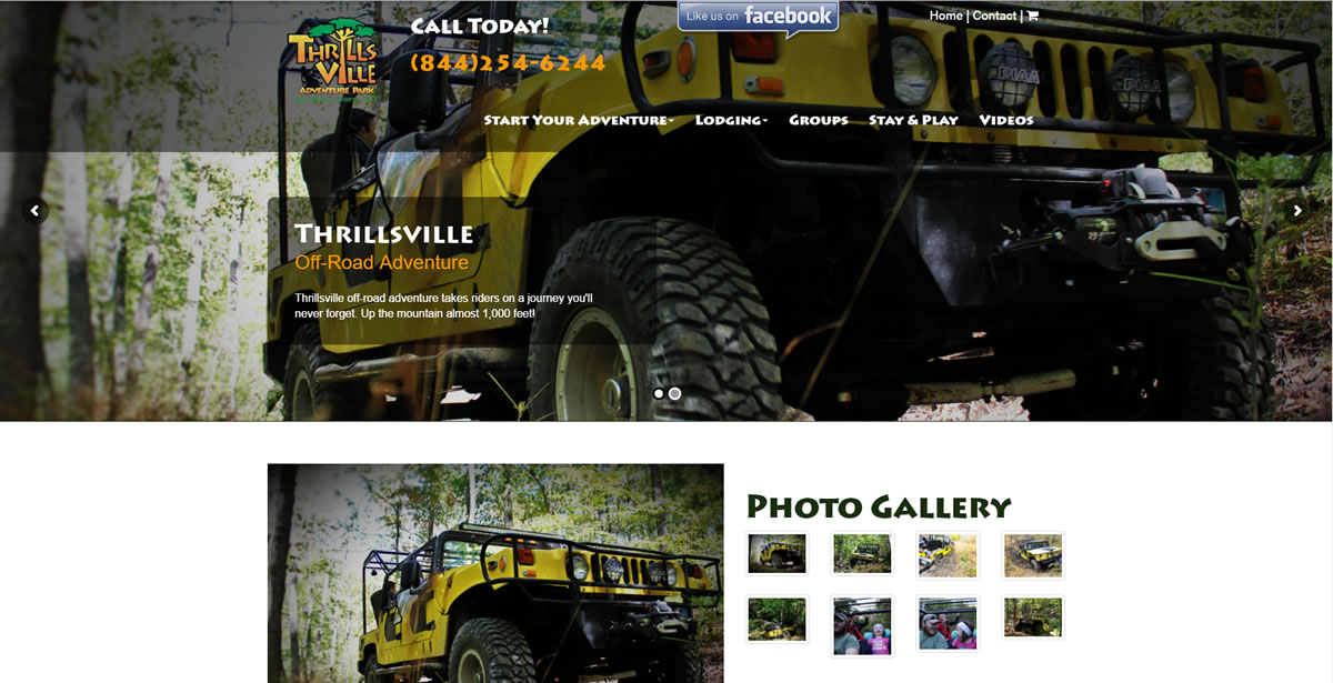 Thrillsville Adventure Park - Off Road