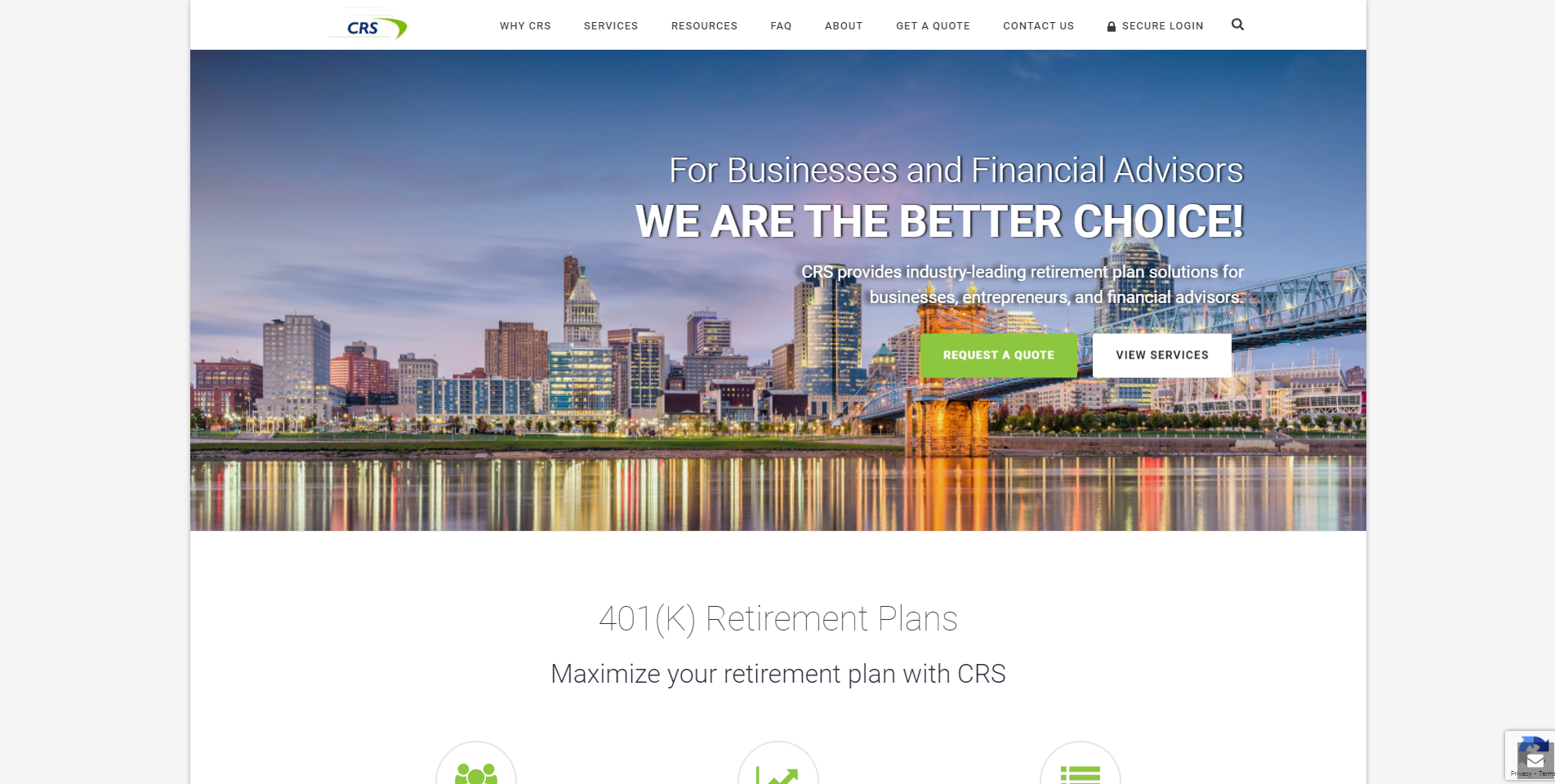 Creative Retirement Systems